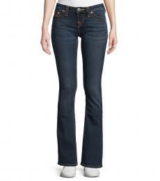 Indigo Becca Mid-Rise Boot-Cut Jeans