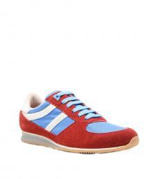 Hugo Boss Red Adinous Sneakers