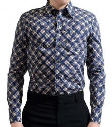 Blue Button Down Dress Shirt