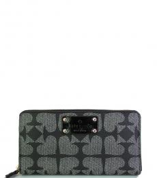 Kate Spade Black Ace of Spades Wallet