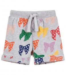 Stella McCartney Baby Girls Grey Cookie Shorts