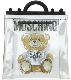 Moschino Transparent Bear Large Tote
