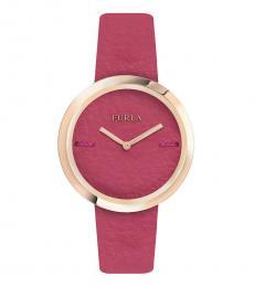 Furla Rose Pink Piper Modish Watch