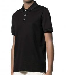Black Slim Fit Polo