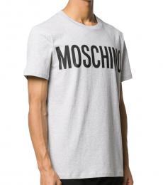 White Logo Graphic T-Shirt