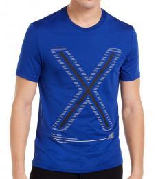 Michael Kors Twilight Blue Kors X Tech Logo T-Shirt