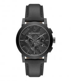Burberry Dark Grey Chronograph Watch