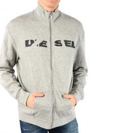 Diesel Grey Brave-Bro Sweatshirt