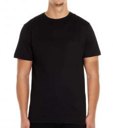 Black Logo Full Crystal T-Shirt