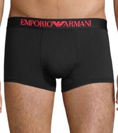 Emporio Armani Black Stretch Boxer Briefs