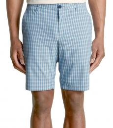 Blue About That Check Shorts