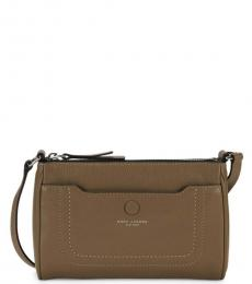 Marc Jacobs French Green Empire City Top-Zip Small Crossbody