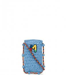 Missoni Light Blue Mobile Mini Crossbody