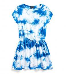 Ralph Lauren Little Girls Tie Dye Jersey Dress