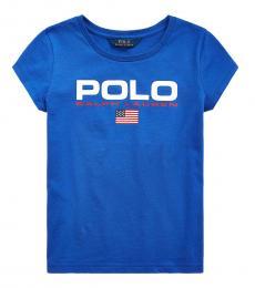 Girls Cruise Royal Graphic T-Shirt