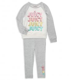 Juicy Couture 2 Piece Top/Pants Set (Baby Girls)