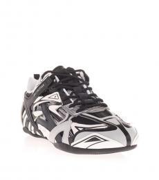 Balenciaga Black White Drive Sneakers