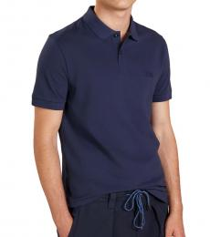 Hugo Boss Navy Blue Piro Regular Fit Polo