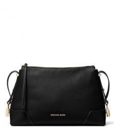 Michael Kors Black Crosby Large Shoulder Bag
