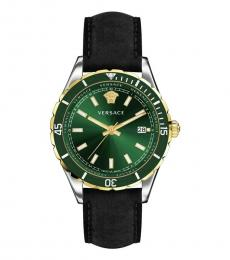 Versace Black Green Dial Watch