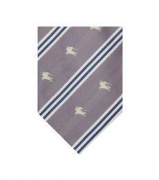 Burberry Light Purple Logo Tie