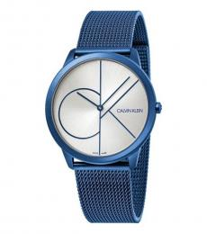 Calvin Klein Shinny Blue Minimal Watch