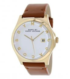 Marc Jacobs Brown Dave Watch