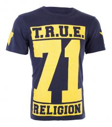 Rugby Blue True Star Rugby T-Shirt