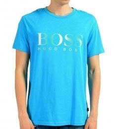 Hugo Boss Aqua Graphic Crewneck T-Shirt