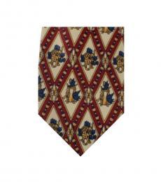 Dolce & Gabbana Red Dapper Tie