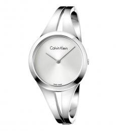 Silver Classic Addict Watch