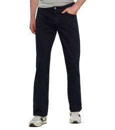 AG Adriano Goldschmied Navy Protege Straight Leg Jeans