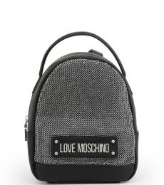 Black Studs Small Backpack