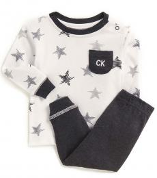 Calvin Klein 2 Piece T-Shirt/Pants Set (Baby Boys)