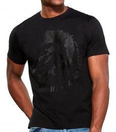 Black Maglieta Logo T-Shirt
