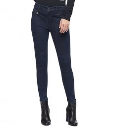 Calvin Klein Dark Blue Stretch Denim Jeans