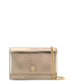 Golden Skull Mini Crossbody