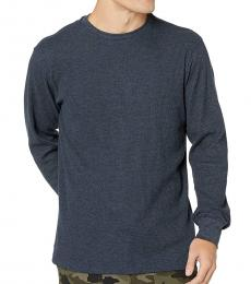 Navy Blue Essential Thermal Sweater