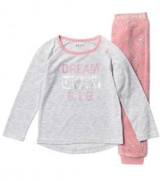 2 Piece T-Shirt/Pajamas Set (Little Girls)