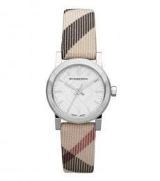 Burberry Multicolor Nova Check Strap Watch