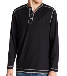 Black-Grand Thermal Henley
