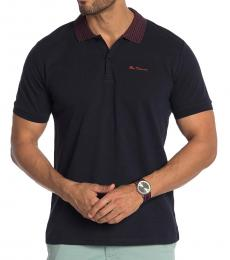Ben Sherman Navy Blue Short Sleeve Polo