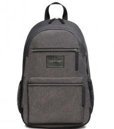 Calvin Klein Grey Byron Large Backpack