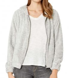 Billabong Light Grey Fleece Hoodie