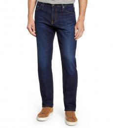 AG Adriano Goldschmied Dark Blue Everett Slim Straight Jeans