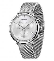 Calvin Klein Silver Chronograph Watch