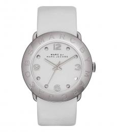 Marc Jacobs White Amy Watch
