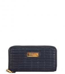 Juicy Couture Navy Blue Nouvelle Wallet
