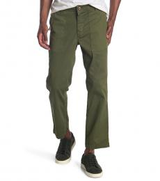 AG Adriano Goldschmied Olive Turner Fatigue Pants