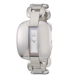 Calvin Klein Silver Treasure Silver Dial Watch